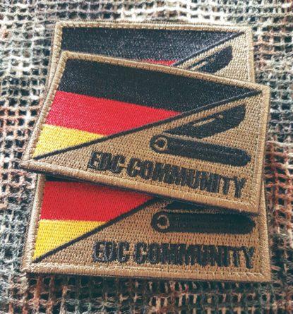 Patch EDC Community schwarz