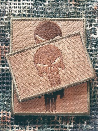 Patch Punisher coyote
