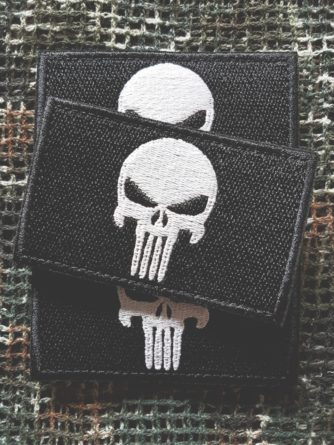 Patch Punisher schwarz