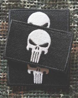 Patch Punisher schwarz