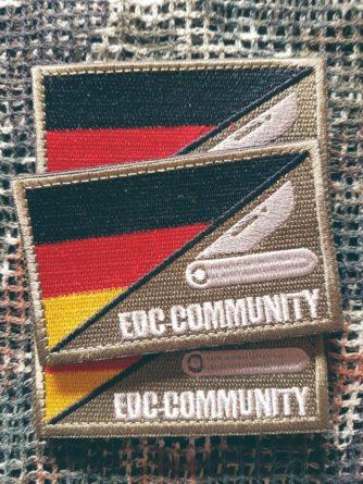 Patch edc community weiß