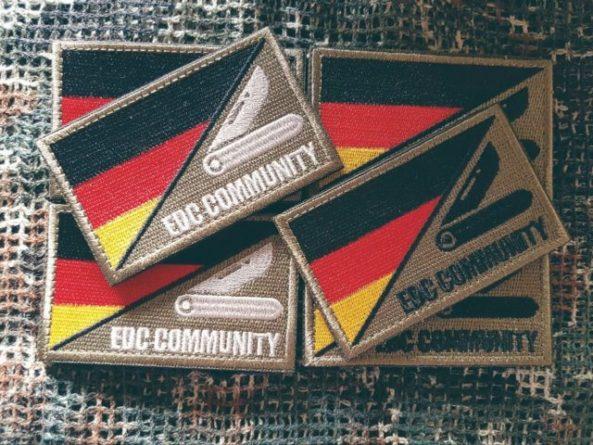 Patch EDC community Germany im Set