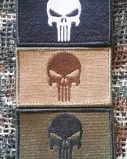 Patch Punisher 3er Set