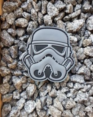 PVC Patch Star Wars Stormtrooper mit Klett