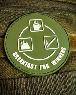 Airsoft Patch - Breakfast for Winners