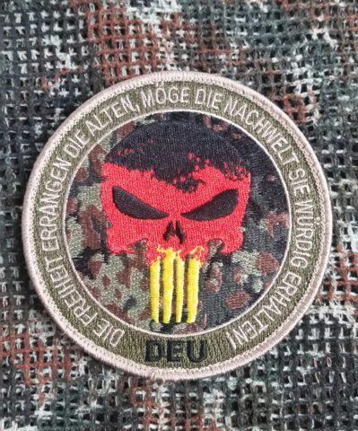 Patch Totenkopf DEU