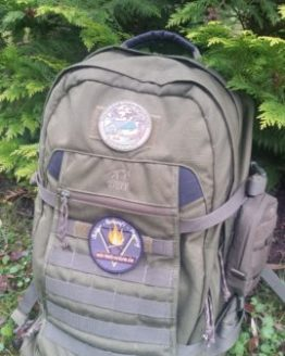 Bushcraft Patch - Recharge Your Batteries