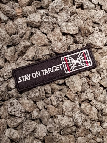 Star Wars Patch - Stay on Target