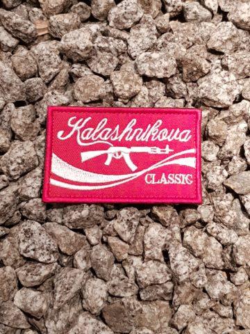 Patch Kalashnikov - rot