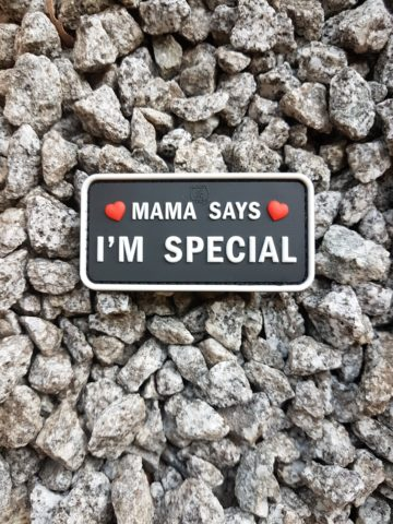 AIRSOFT Patch - Mama Says I'm Special