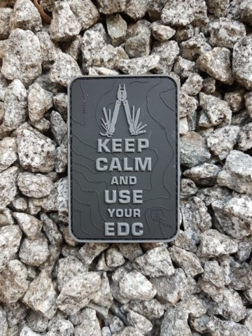 EDC PATCH - Keep Calm and use your EDC, blackops