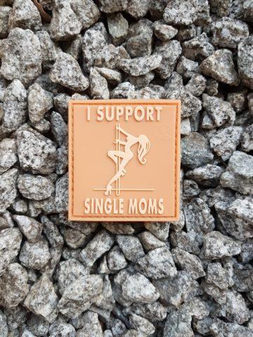 TEAM PATCH - I Support Single Moms, desert