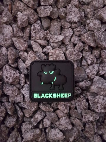 PVC PATCH - Little BlackSheep, gid