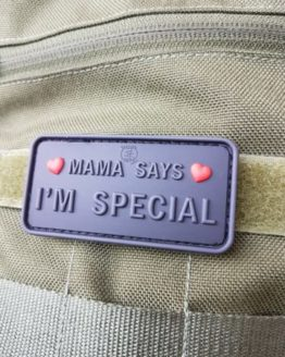 AIRSOFT PATCH - MAMA SAYS I´M SPECIAL, blackops