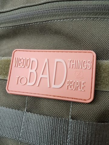 MORAL PATCH - WE DO BAD THINGS, desert
