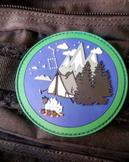 Bushcraft Patch - Outdoor Patch - limitiert