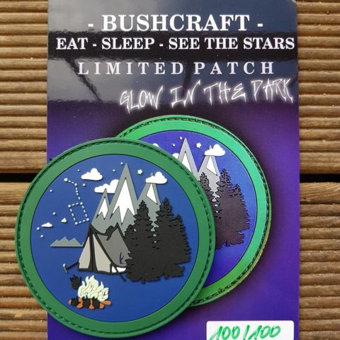 Bushcraft Patch - Outdoor Patch - limitiert
