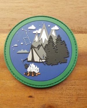 BUSHCRAFT PATCH – OUTDOOR PATCH – LIMITIERT