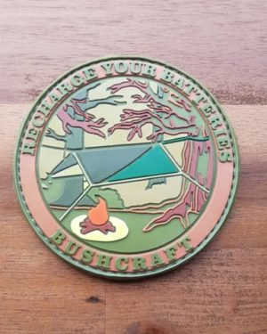 BUSHCRAFT PATCH – RECHARGE YOUR BATTERIES