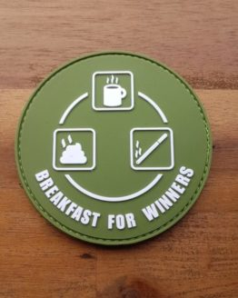 Airsoft Patch – Breakfast for Winners