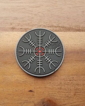 AIRSOFT PVC Patch – Helm of Awe Patch, blackops