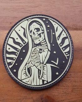 PVC PATCH – Santa Muerte Patch
