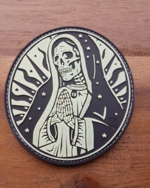 PVC PATCH – Santa Muerte Patch