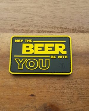 PVC Patch – May The BEER Be With YOU Patch