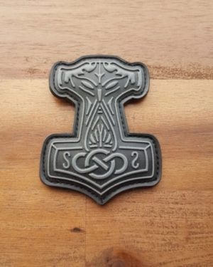 PVC Patch Thors Hammer