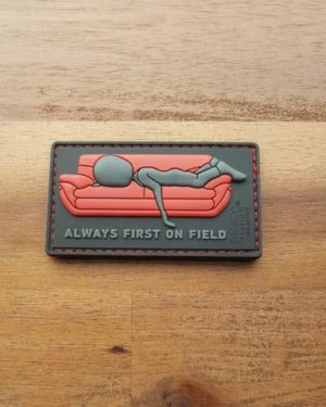 PVC PATCH – ALWAYS FIRST ON COUCH