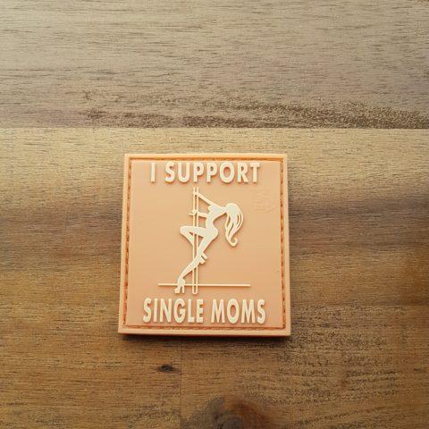 I Support Single Moms, desert