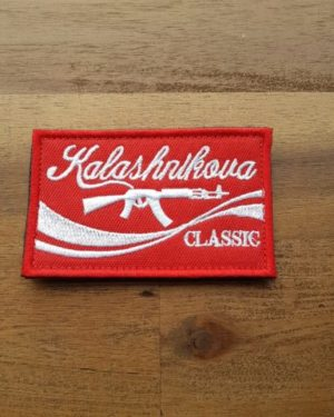 Patch Kalashnikov – rot
