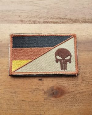 Patch EDC Punisher german