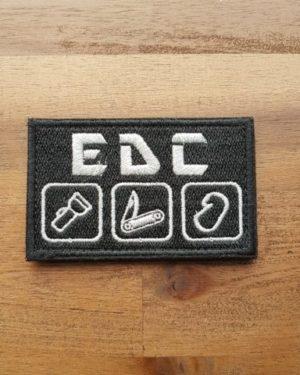 EDC Patch schwarz