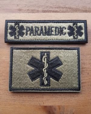 PARAMEDIC PATCH SET