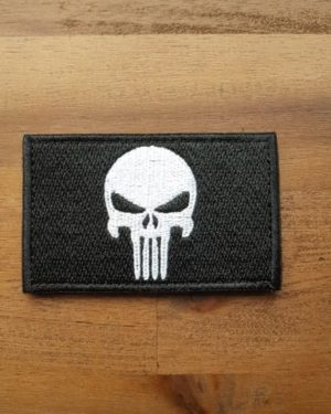 Punisher Patch schwarz