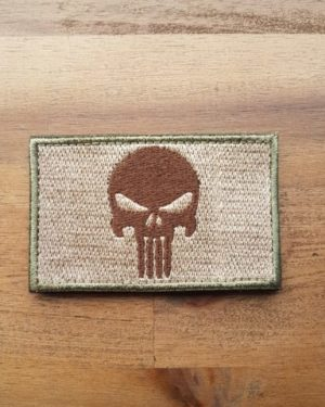Punisher Patch coyote