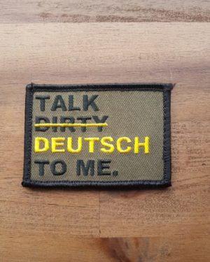 Patch Talk Dirty