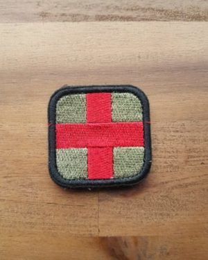 Sanitäter Patch oliv