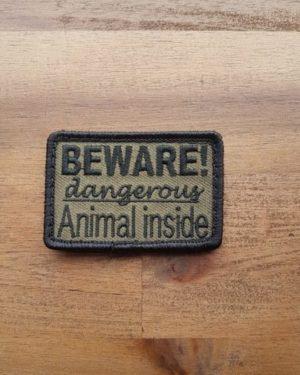 Patch Dangerous Animal Inside