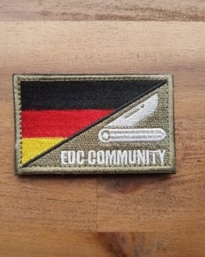 EDC Community Patch weiß