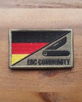 EDC Community Patch schwarz