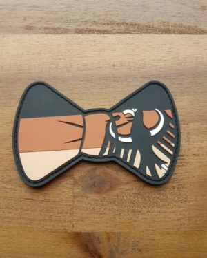 Combat Bowtie – Adler-tan PVC Patch