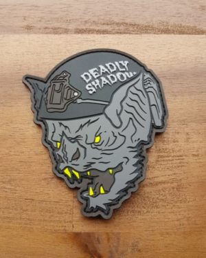 The Bat – Deadly Shadow – PVC Patch