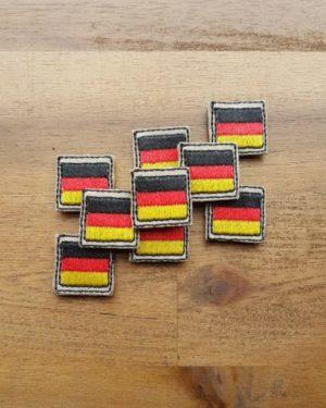 Deutschland Patch – Minipatch – sand