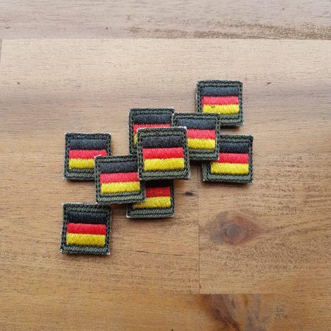 Deutschland Patch – Minipatch – oliv