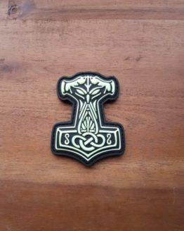Thors Hammer Patch Mjölnir gid