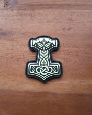 Thors Hammer Patch Mjölnir gid