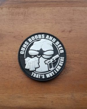 Guns Boobs and Beer Patch