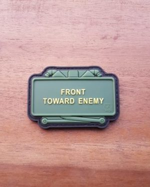 CLAYMORE MINE Patch, Front Toward Enemy